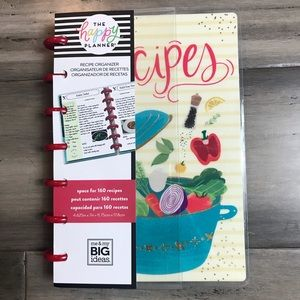 The Happy Planner Recipe Organizer - Mini